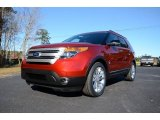 2014 Ruby Red Ford Explorer XLT #88960313