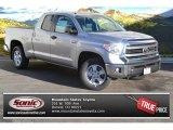 2014 Silver Sky Metallic Toyota Tundra SR5 Double Cab 4x4 #88959839