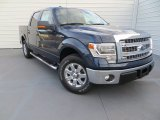 2014 Blue Jeans Ford F150 XLT SuperCrew #89007341
