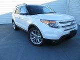 2014 White Platinum Ford Explorer Limited #89007340
