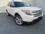 2014 White Platinum Ford Explorer XLT #89007339