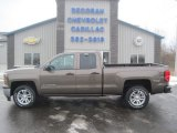 2014 Brownstone Metallic Chevrolet Silverado 1500 LT Double Cab 4x4 #89007678