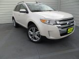 2014 White Platinum Ford Edge Limited #89007336