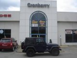2006 Midnight Blue Pearl Jeep Wrangler X 4x4 #8844626