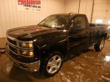 2014 Black Chevrolet Silverado 1500 LT Z71 Regular Cab 4x4 #89007667