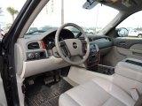2010 Chevrolet Silverado 1500 LTZ Crew Cab Light Titanium/Dark Titanium Interior