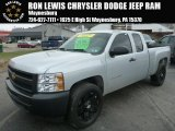 2012 Silver Ice Metallic Chevrolet Silverado 1500 Work Truck Extended Cab 4x4 #89007324