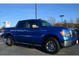 2010 Blue Flame Metallic Ford F150 XLT SuperCrew 4x4 #89007231
