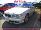 2006 Titanium Silver Metallic BMW 3 Series 325i Convertible #89007143