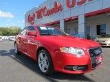 2008 Brilliant Red Audi A4 2.0T Sedan #89007140