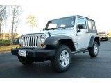 2012 Bright Silver Metallic Jeep Wrangler Sport 4x4 #89007486