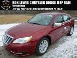 2014 Deep Cherry Red Crystal Pearl Chrysler 200 Limited Sedan #89007314