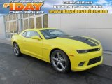 2014 Bright Yellow Chevrolet Camaro SS/RS Coupe #89007051