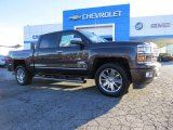 2014 Tungsten Metallic Chevrolet Silverado 1500 High Country Crew Cab 4x4 #89007392
