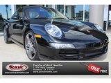 2008 Black Porsche 911 Carrera S Coupe #89007375