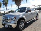 2014 Ingot Silver Ford F150 XLT SuperCrew 4x4 #89007105
