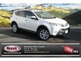 2013 Blizzard White Pearl Toyota RAV4 Limited AWD #89007019