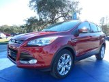 2014 Ruby Red Ford Escape Titanium 2.0L EcoBoost #89007194