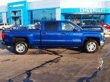 2014 Blue Topaz Metallic Chevrolet Silverado 1500 LT Crew Cab 4x4 #89007086