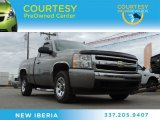 2008 Graystone Metallic Chevrolet Silverado 1500 Work Truck Regular Cab #89007602