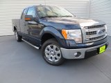 2014 Blue Jeans Ford F150 XLT SuperCab #89007347