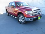 2014 Ruby Red Ford F150 XLT SuperCrew #89007346