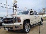 2014 White Diamond Tricoat Chevrolet Silverado 1500 LTZ Z71 Crew Cab 4x4 #89051911