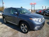 2012 Shoreline Blue Pearl Toyota Highlander Limited 4WD #89052495