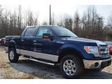2014 Blue Jeans Ford F150 XLT SuperCrew 4x4 #89051984