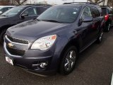 2014 Atlantis Blue Metallic Chevrolet Equinox LT AWD #89051627