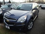 2014 Atlantis Blue Metallic Chevrolet Equinox LS AWD #89051618