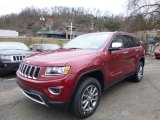 2014 Deep Cherry Red Crystal Pearl Jeep Grand Cherokee Limited 4x4 #89052315