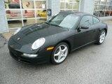 2007 Black Porsche 911 Carrera Coupe #87856