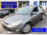 2012 Sterling Grey Metallic Ford Focus SEL 5-Door #89051566