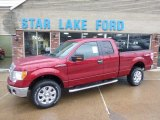 2014 Ruby Red Ford F150 XLT SuperCab 4x4 #89120516