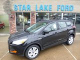 2014 Tuxedo Black Ford Escape S #89120513