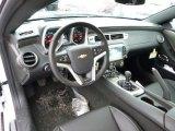 2014 Chevrolet Camaro SS/RS Coupe Black Interior