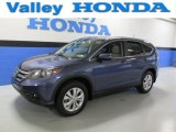 2012 Twilight Blue Metallic Honda CR-V EX-L 4WD #89120289