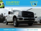 2012 White Platinum Metallic Tri-Coat Ford F250 Super Duty XL Crew Cab 4x4 #89120505