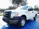 2014 Oxford White Ford F150 XL Regular Cab #89120316