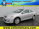 2013 Classic Silver Metallic Toyota Camry Hybrid XLE #89120533
