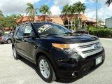 2011 Tuxedo Black Metallic Ford Explorer XLT #89120312