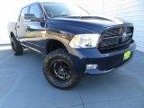 2012 True Blue Pearl Dodge Ram 1500 Sport Crew Cab 4x4 #89120417