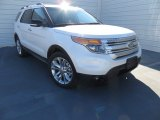2014 White Platinum Ford Explorer XLT #89140966