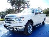 2014 White Platinum Ford F150 Lariat SuperCrew #89140864