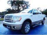 2014 White Platinum Ford F150 XLT SuperCrew #89140861