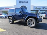 2012 True Blue Pearl Jeep Wrangler Sport 4x4 #89161377