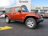 2014 Copperhead Pearl Jeep Wrangler Unlimited Sahara 4x4 #89161376