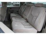 2005 Chevrolet Silverado 1500 LS Crew Cab Rear Seat