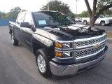 2014 Black Chevrolet Silverado 1500 LT Crew Cab #89161680